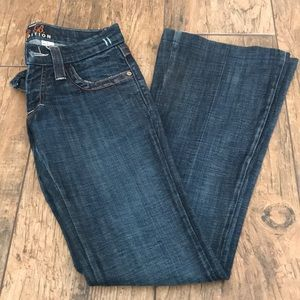 Frankie B. Jeans flare low rise
